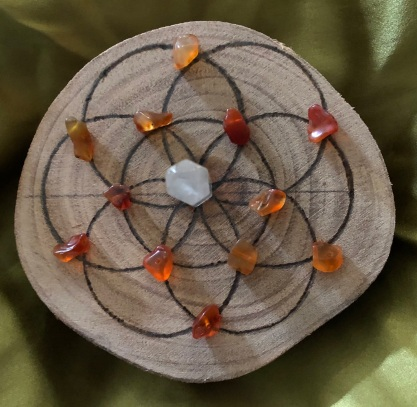 Crystal seed 4